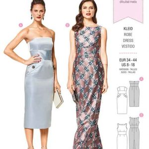 Burda Style Pattern B6441 Women's Special Occasion Gown