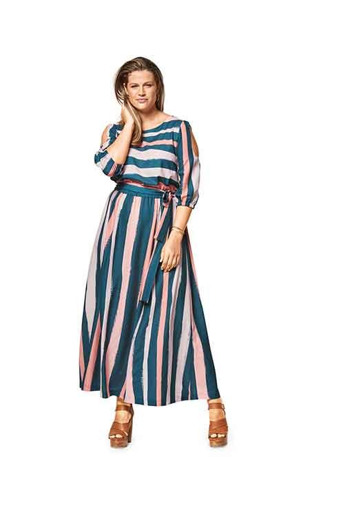 Burda St|yle Pattern B6449 Women's Summer Dress