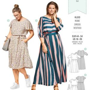 Burda St|yle Pattern B6449 Women's Summer Dress