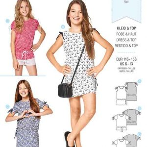 Burda Style Pattern B9344 Child's Shirt Dresses