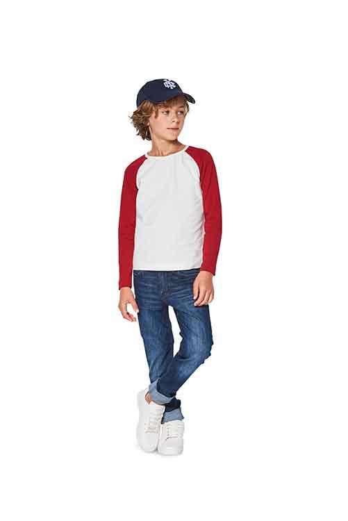 Burda Style Pattern B9346 Child's Raglan Tops