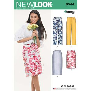 New Look Pattern 6544 Miss Skirt in Two Lengths