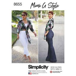 Simplicity 8655 Mimi G High Waisted Trousers and Tie Top