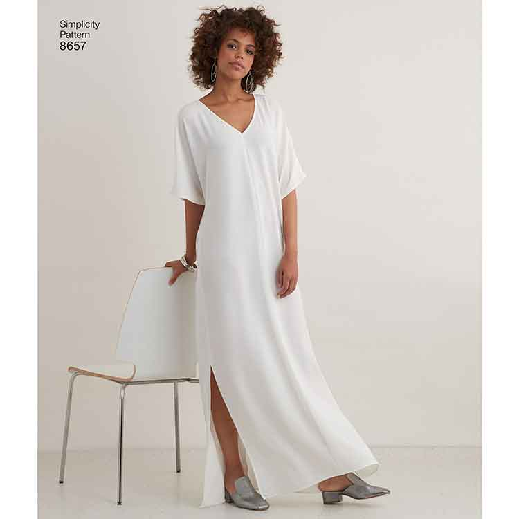 Simplicity 8657 Women\'s Caftan with Options for Design Hacking - Sew ...