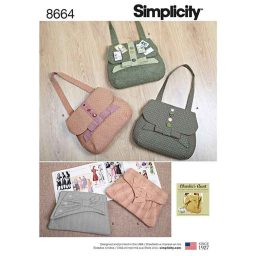 Simplicity 8664 Bags in Four Styles