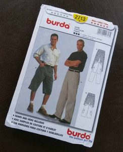 discontinued Burda pattern 2713