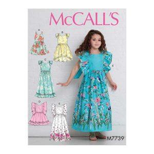 M7739 Children's/Girls' Dresses