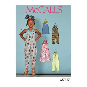M7767 Toddler's/Childrens' Romper and Jumpsuits