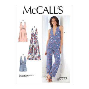 M7777 Misses' Dresses, Romper and Jumpsuit