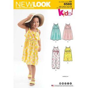 New Look Pattern 6569 Child's Sundress