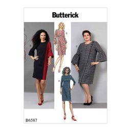 B6587 Misses'/ Women's Dress