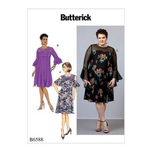 B6588 Women's dress