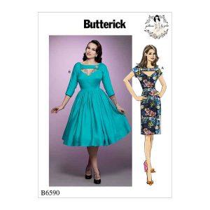 B6590 Misses' dress