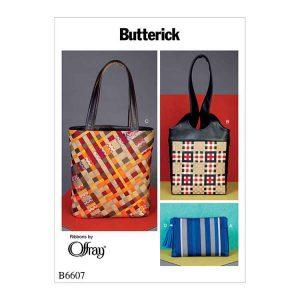 B6607 Ribbon Bags