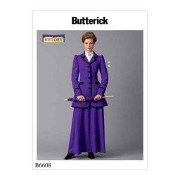 B6608 Misses' Costume