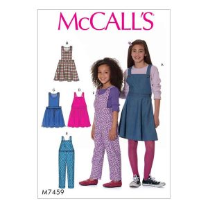 M7459 Childrens'/Girls' jumpers and overalls