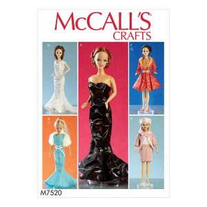 M7520 Doll clothes