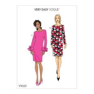 V9325 Misses' dress