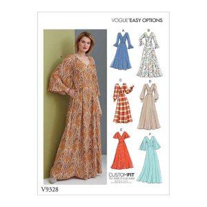V9328 Misses' dress