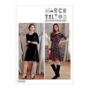 V9329 Misses' dress