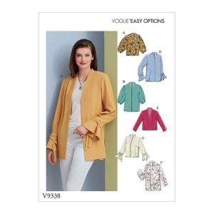 V9338 Misses' Jacket