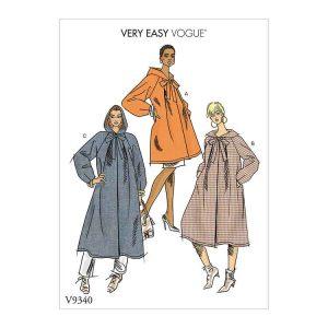 V9340 Misses' Coat