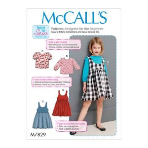 M7829 Children's/Girls' Tops and Jumpers