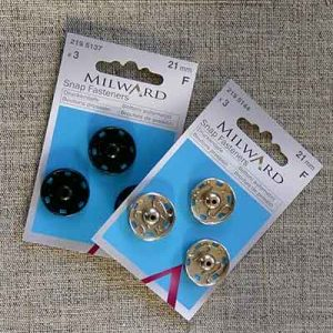 21mm snap fasteners