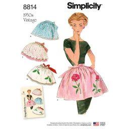 Simplicity 8814 Misses' Vintage Aprons