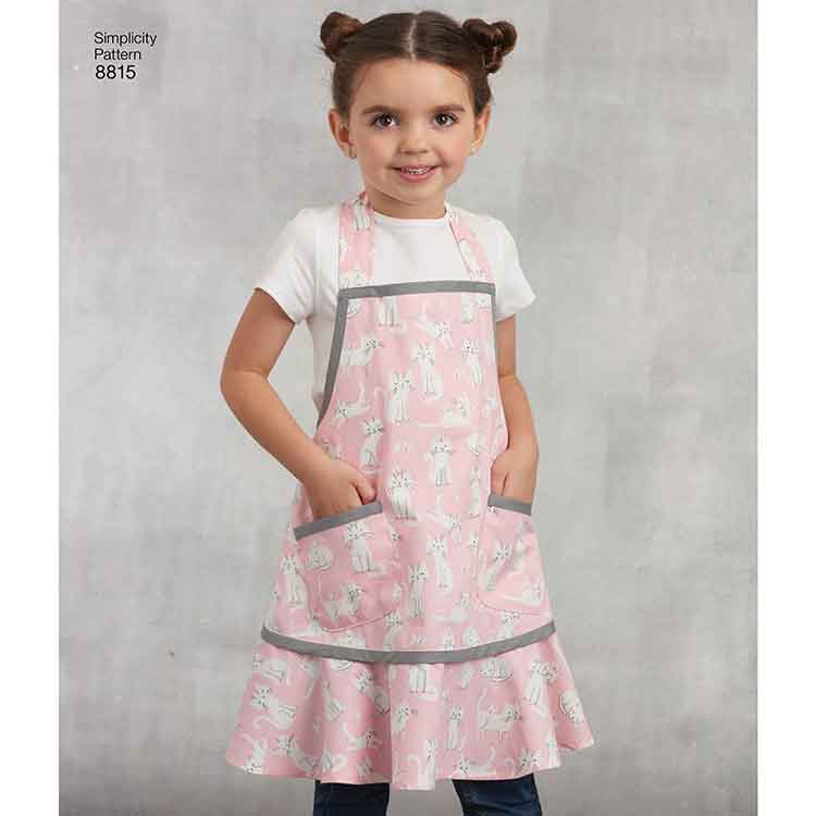 Simplicity 8815 Child's and Misses' Apron
