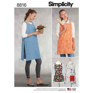 Simplicity 8816 Misses' Aprons