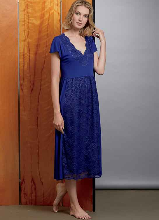 V1611 Misses' Nightgown and Pants