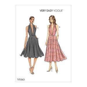 V9343 Misses' dress