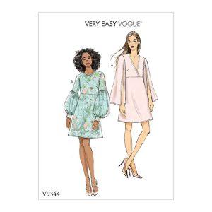 V9344 Misses' dress