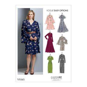 V9345 Misses' dress