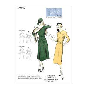V9346 Misses' dress