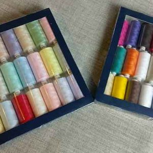 Coats Moon thread, 24 assorted colours