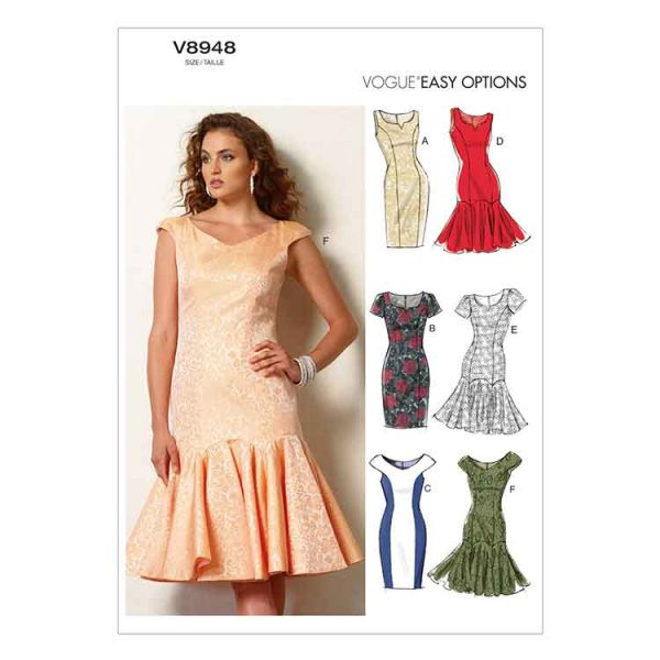 V8948 Misses'/Misses' Petite Dress