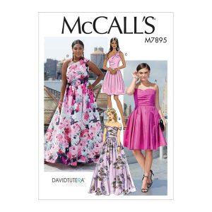 M7895 Misses'/Women's Dresses