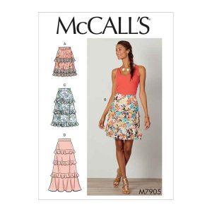 M7905 Misses' Skirts