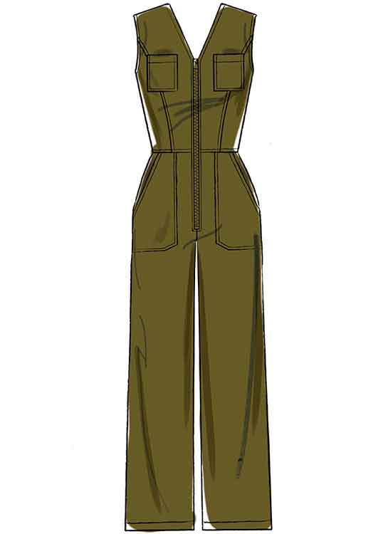 M7908 Misses'/Miss Petite Jumpsuits