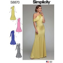 Simplicity S8870 Misses'/Miss Petite Dress