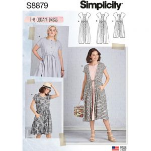 Simplicity S8879 Misses' Dress
