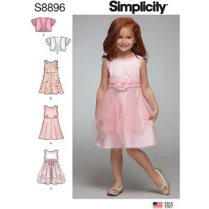 Simplicity 8896 Children's Dress
