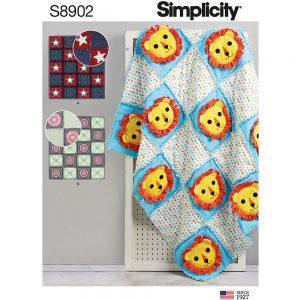Simplicity 8902 Rag Quilts