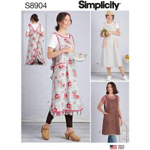 Simplicity 8904 Misses' Wrap-Around Apron
