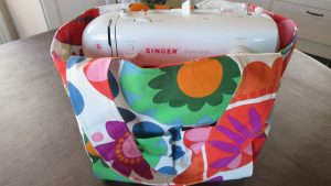 tote bag first sewing project