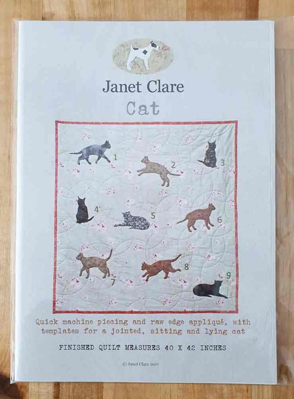 Janet Clare quilt pattern: Cat