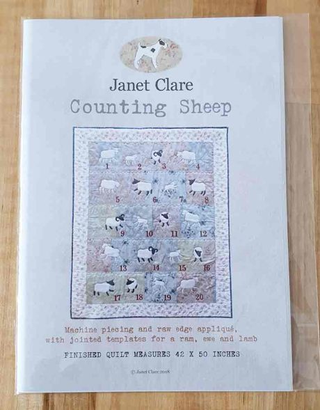 Janet Clare quilt pattern: Counting Sheep