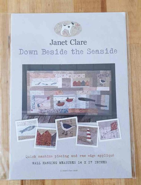 Janet Clare quilt pattern: Down Beside the Seaside